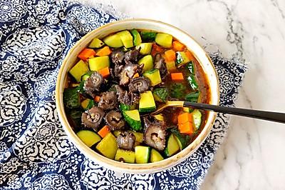 #花10分钟,做一道菜!#凉拌海参