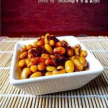 美味小吃:酱黄豆