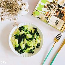 #花10分钟,做一道菜!#懒人快手菜—清炒小白菜