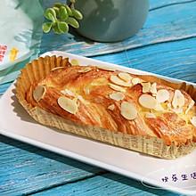 #爱好组-高筋复赛#香酥~丹麦杏仁排包