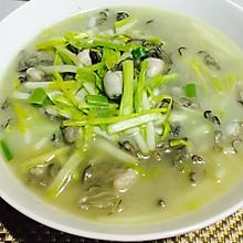 韭黄炒牡蛎