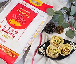 芯芯麦香玫瑰饺子的做法