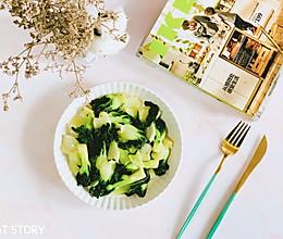#花10分钟,做一道菜!#懒人快手菜—清炒小白菜的做法