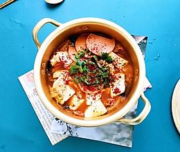 #我要上首焦#不去韩国也能吃的韩式辣酱汤的做法