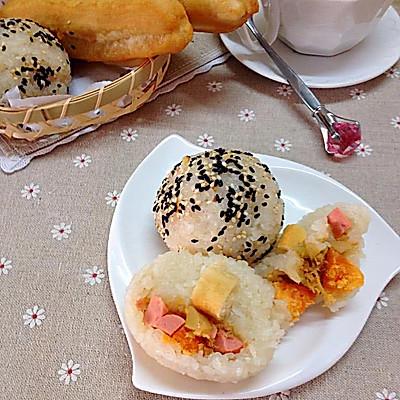 迷你粢饭团——乌江榨菜