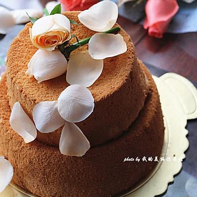 生日快乐!【香橙戚风蛋糕】