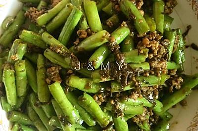 豆角橄榄菜
