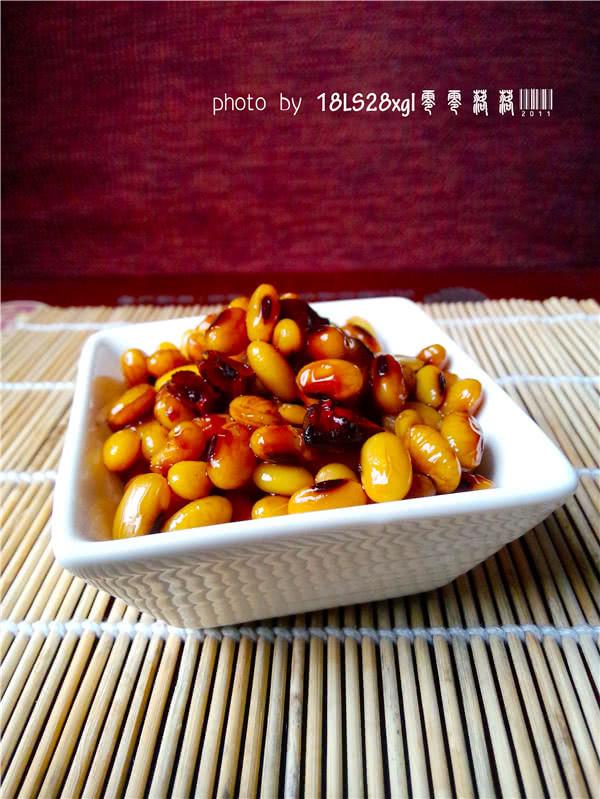 美味小吃:酱黄豆的做法