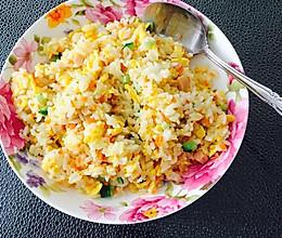 简单的家常蛋炒饭的做法