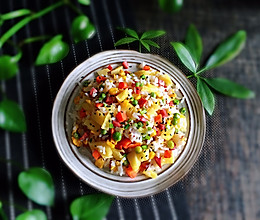 #精品菜谱挑战赛#菠萝炒饭的做法