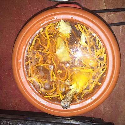 花胶虫草炖鸡汤