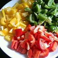 彩椒炒培根,健康饮食的做法图解1