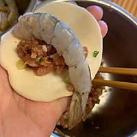 抱蛋鲜虾煎饺的做法图解6