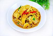 #憋在家里吃什么#腐竹炖白菜的做法