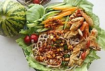 鸟巢生菜卷的做法