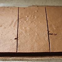 ~巧克力裸蛋糕~的做法图解16