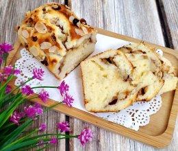 低糖低油肉桂桃子磅蛋糕的做法