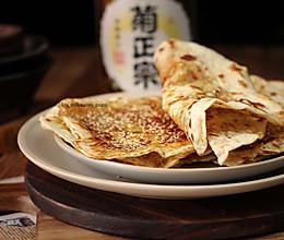 #太太乐鲜鸡汁芝麻香油#湖北大悟县特色小吃,香葱鲜肉薄饼的做法