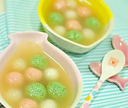 营养完美均衡 双色鱼丸萝卜汤的做法