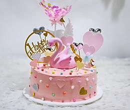 火烈鸟生日蛋糕的做法