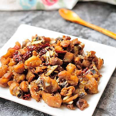 家常干煸辣子鸡(微辣版) 宴客必备硬菜 百分百复制饭店口味