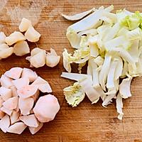 海鲜疙瘩汤,我的冬季必需早餐的做法流程详解2