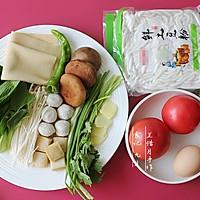 茄汁砂锅土豆粉的做法图解1