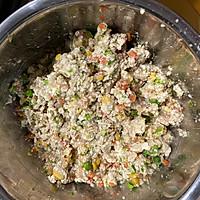 减脂快手菜——烤箱版豆腐杂蔬丸的做法图解4