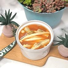 西红柿蘑菇汤