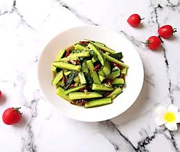 酸辣黄瓜条#餐桌上的春日限定#的做法