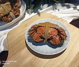蒸烤箱蒸螃蟹的做法