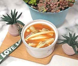 西红柿蘑菇汤的做法