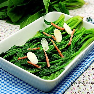 [上汤菠菜]—菠菜的鲜美吃法