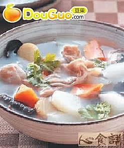 萝卜猪肚汤