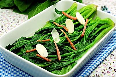 [上湯菠菜]—菠菜的鮮美吃法
