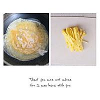 #今天吃什么#凉拌菠菜鸡蛋丝,清肠道解油腻!的做法图解3