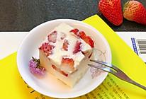草莓奶冻的做法