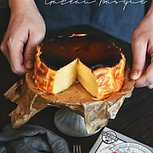 火遍全网的巴斯克芝士蛋糕#我们约饭吧#