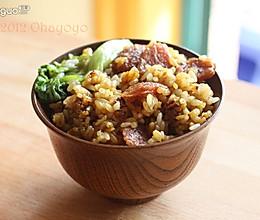 腊味煲仔饭(铸铁锅版)的做法