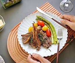 法式煎羊排的做法
