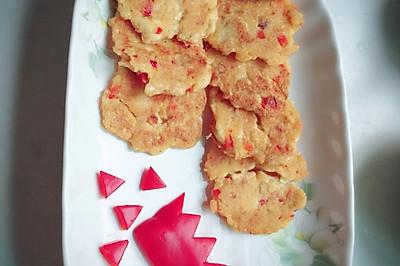 甜椒豆腐饼