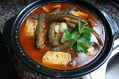 家乡味: 香辣泥鳅炖豆腐