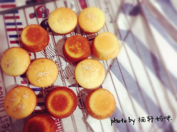 奶香酥皮蛋糕的做法