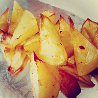 低卡零食-脆皮烤土豆的做法图解4