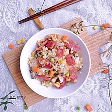 腊肠焖饭#秋天怎么吃##麦子厨房美食锅#