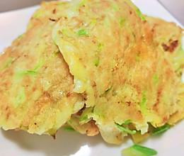西葫芦鸡蛋饼(简单方便养胃易消化)的做法