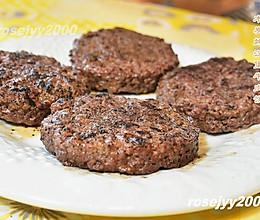 Charcoal Grill 木炭烧烤汉堡牛肉饼的做法