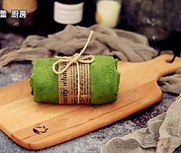 抹茶毛巾卷的做法