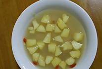 苹果煮甜米酒的做法