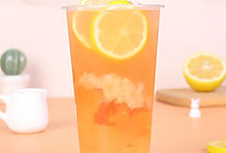 蜜桃柠檬绿茶的做法